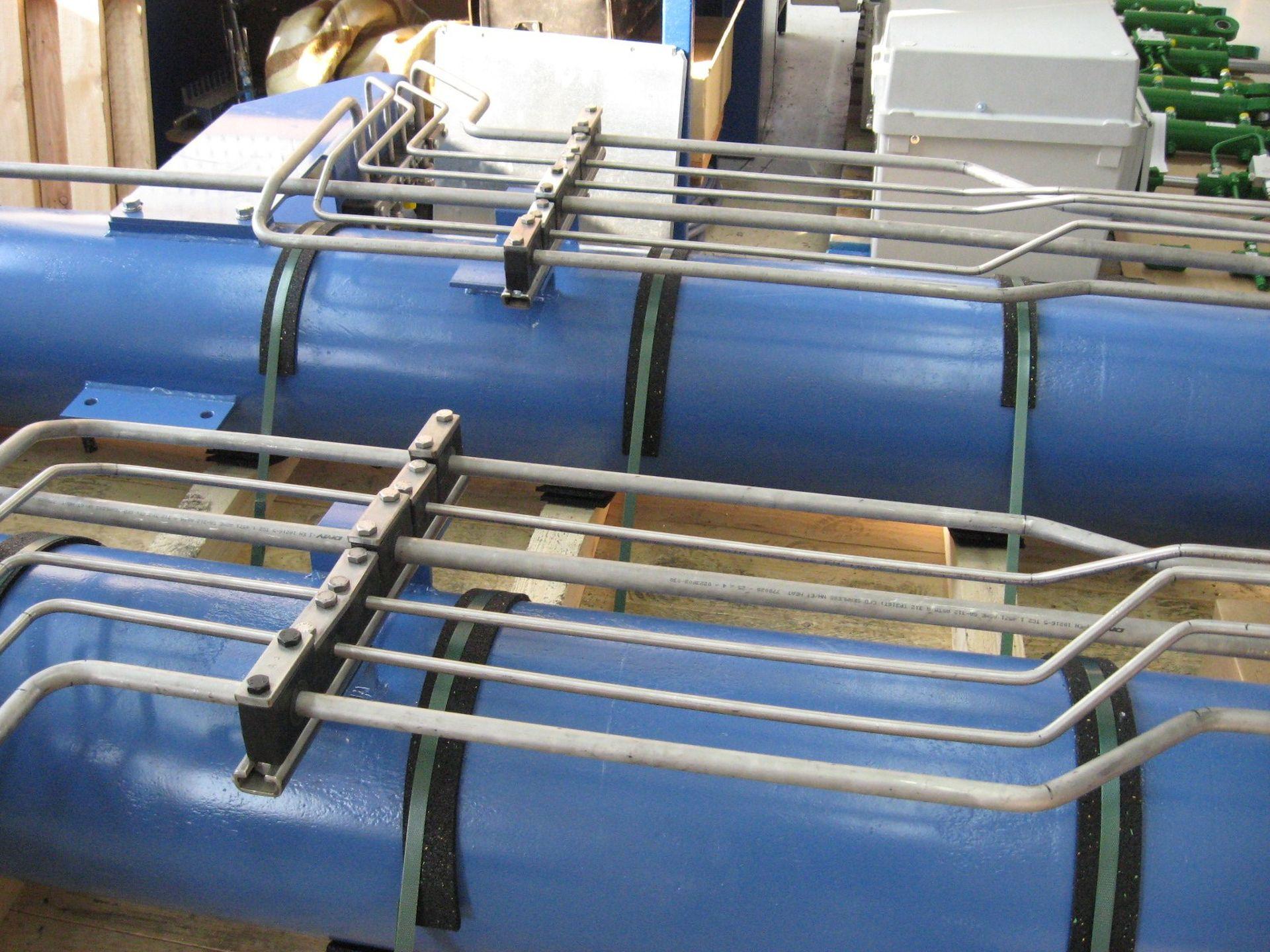 Hydraulikrohre eines Aggregates